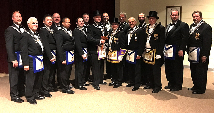 St. John's Officers Installation 2017